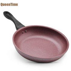 Queentime антипригарным сковорода Fried Egg стейк сковородке Сковорода-гриль для омлет Блин Делает Алюминий сковорода Кухня посуда