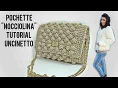 TUTORIAL POCHETTE NOCCIOLINA UNCINETTO - CROCHET ● Katy Handmade - YouTube