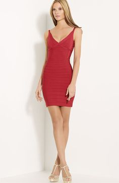Herve Leger   I've got one week to tone up and get ready for this bad boy!