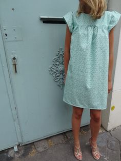 La chronique d'Aurélie //91// Première robe Rosamée | Lagouagouache