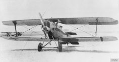 V two-seat reconnaissance/ground attack biplane. Wright Brothers, Austro Hungarian, Military Aircraft, First World, World War, Fighter Jets, Aviation, German, Black And White