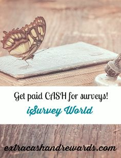 Get paid in PayPal cash for taking surveys at iSurvey World