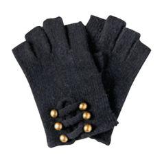 Black Gold Ball Gloves