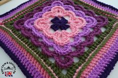 So it's time for block 3 already, these blocks are coming round quick! So sometimes you just see some crocheted loveliness and think one day I am going to have to make that. For me this CAL is de...