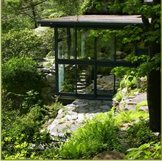 Russell Wright design center @ Manitoga. I highly recommend the tour offered in + around this exceptional home. It's just a short drive from NYC to Garrison, NY.