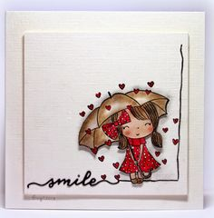 """Love this idea for developing an """"edging"""" for a card"""