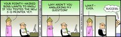 Yet another brilliant Dilbert cartoon