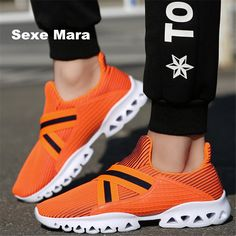 High quality Men shoes Casual jogging shoes Unisex Summer mesh lovers unisex Fly Weave Light Breathable Fashion tenis feminino