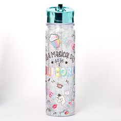 Shop Claire's for the latest trends in jewelry & accessories for girls, teens, & tweens. Find must-have hair accessories, stylish beauty products & more. Glitter Water Bottles, Cute Water Bottles, Apple Watch Accessories, Girls Accessories, Unicorn Gift Bags, Underwater Metal Detector, Essie Nail Polish Colors, Unicorn Coffee Mug, Unicorn Mom