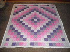 Trip Around the World Quilt (TATW) Hillside Hobby Quilts on Etsy