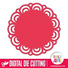 Doily Round 19 - TotallyJamie: SVG Cut Files, Graphic Sets & Clip arts