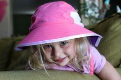 Cute SunGrubbies Adventure Hat for Kids! Chloe loves hers!