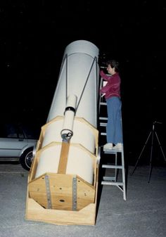 Tom Clark, Cloudy Nights, Show Us, Milky Way, Telescope, Technology, Building, Diy, Tech