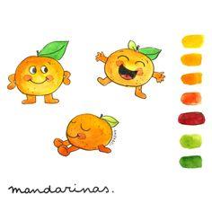 Top Tags, Yoshi, Watercolor Paintings, Fictional Characters, Instagram, Pen And Wash, Mandarin Oranges, Watercolor Drawing, Watercolors