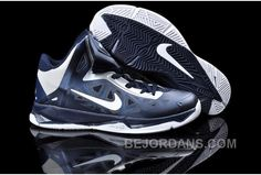 http://www.bejordans.com/60off-big-discount-nike-zoom-hyperfuse-x-james-10-deep-blue-silver-nzh0611.html 60%OFF! BIG DISCOUNT! NIKE ZOOM HYPERFUSE X JAMES 10 DEEP BLUE SILVER NZH0611 Only $83.00 , Free Shipping!