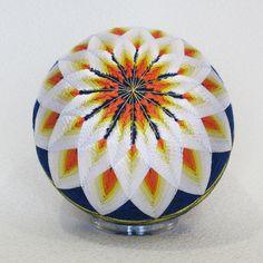 Искусство темари – вышивка на шарах.. Обсуждение на LiveInternet - Российский Сервис Онлайн-Дневников