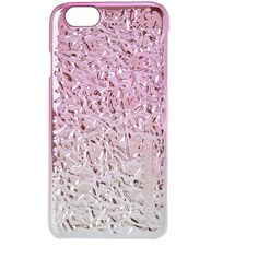 Marc by Marc Jacobs Pink Ombre Foil Effect iPhone 6 Case (€55) ❤ liked on Polyvore featuring accessories, tech accessories and marc by marc jacobs
