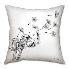 "Pillow cushion -Blow of the wind 2-. €30.00, via Etsy. //A pillow that screams ""I belong with you @Courtney Christensen."""