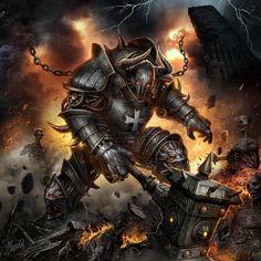 Necromancer, Paladin, World Of Fantasy, Fantasy Art, Before You Judge Me, You Are Wonderful, War Machine, Punisher, Dieselpunk