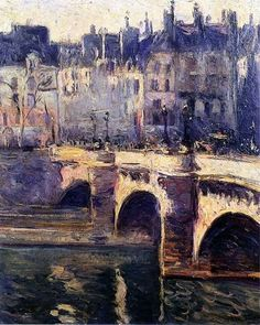 The Pont Neuf, Paris.-Othon Friesz-1902