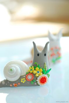 CUTEST SNAILS IN THE WORLD!!!!! <3
