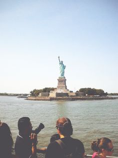Repinned: Places to see in New York City - Statue of Liberty #DestinationSummer