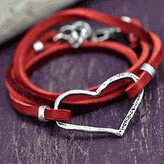 Boho Wrap Bracelet (valentine day gift idea)