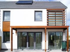 First certified passive house is Ireland. Lisnahull Terrace, Dungannon by Kennedy Fitzgerald Architects.