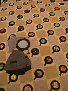 """Such a clever idea for an """"I Spy"""" quilt!   by MooseStash Quilting"""