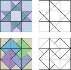 Como hacer una colcha de patchwork