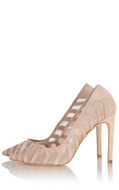 Mesh and leather court shoe just perfect