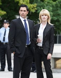 "cold case tv show | Cold Case - ""Thrill Kill"" - Danny Pino as Valens, and Kathryn Morrisas ..."