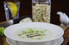 Raw cream of celery soup recipe