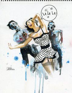 Lora Zombie - Zombie Love
