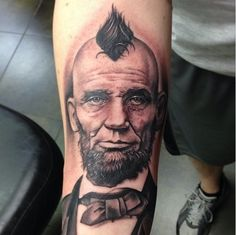Abraham Lincoln - The Best and Worst Celebrity Fan Tattoos - Photos