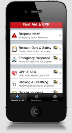 Top 50 iPhone Apps for Moms 2011: Pocket First Aid #27