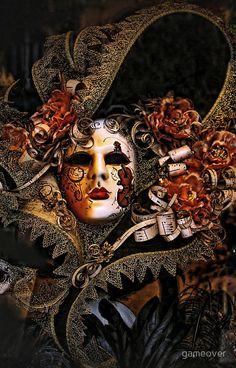 Venice Carnival masquerade, Baroque masks