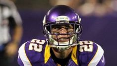 Minnesota Vikings safety Harrison Smith (pictured in the preseason) was ejected from today's game against Tennessee for shoving a referee. Viking Pictures, Harrison Smith, Referee, Minnesota Vikings, Usa Today, Football Helmets, Tennessee, Nfl, Safety