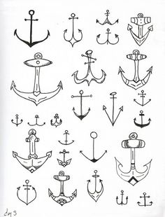 Anchor print, a fun adornment for any wall.