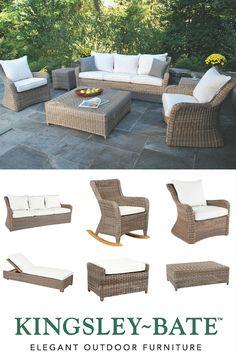 Kingsley Bate Sag Harbor Woven Outdoor Patio Furniture