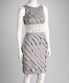 Natural Lace Sheath Dress London Times