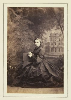 The Crown Princess of Prussia (Princess Royal of England), 1861 [in Portraits of Royal Children Vol.5 1860-1861] | Royal Collection Trust
