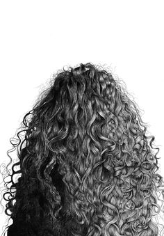 Lorde's hair drawing=amazing! I wish I could draw hair like that...I wish MY HAIR looked like that!
