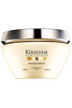 Kerastase Densifique Masque Densite - Replenishing gel masque for aging, mature, and life-stressed hair Summer Hairstyles, Cool Hairstyles, Mousse, Kerastase, Best Hair Mask, Hair Masque, Hair Repair, Paris, Shopping