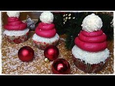 Sugarprincess: Süße Mützen von Ina Is(s)t und Nikolaus Cupcakes von Genussvoll (Video) - SCCC 2016: 6. Türchen