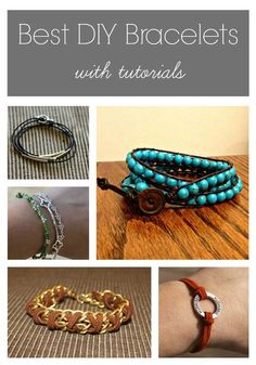 Best DIY Bracelets - tutorials - select that one on the bottom left - the beige and orange combo with the X's - great choice