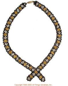 Ukrainian Gherdany Beadwork  # 05-6086 handmade in Ukraine. Originally sold on http://www.allthingsukrainian.com/Jewelry/index.htm