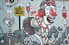 Keep Creative Movement by Diego Della Posta, via Behance