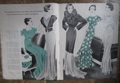Butterick Fashion Book, Spring and Early Summer 1934