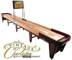 Champion Charleston Shuffleboard Table 22 Ft